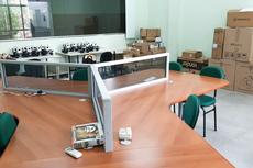 Os primeiros equipamentos chegaram ao IFF Campos Centro.Fotos: Divulgação