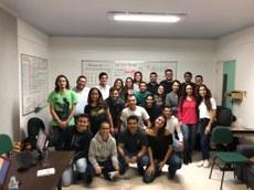 Os membros da atual gestão da Aurea (Foto: Divulgação)