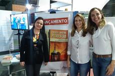 As professoras Roberta, Edméa e Ana Paula são autoras do livro. (Foto: Divulgação)
