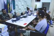 Primeiro dia de matrículas para cursos técnicos (Fotos: Rakenne Barbosa/Comunicação Social do Campus)