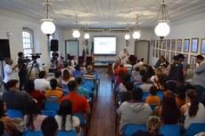 Audiência pública sobre a implantação do Campus Itaboraí.Foto: Divulgação
