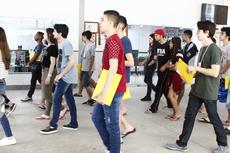 Estudantes participam de visita guiada no Campus Campos Centro do IFF (Letícia Cunha).