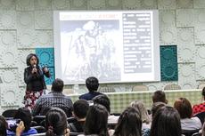 A aula inaugural das pós-graduações em Arquitetura e Geografia aconteceu no auditório Miguel Ramalho, no Campus Campos Centro. Foto: Raphaella Cordeiro