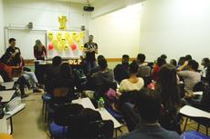 O ambiente descontraído colaborou para o sucesso do curso (Fotos: Rakenny Braga/Comunicação Social).