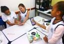 Nas aulas, inovações tecnológicas têm proporcionado novas metodologias de aprendizagem, cada vez mais eficientes e interativas.