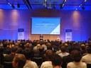 Abertura do Congresso de Tecnologia Aeroespacial, 8 e 9 de outubro, em Estocolmo.