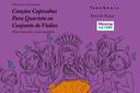 Capa do livro Canções Capixabas para Quarteto ou Conjunto de Violões