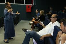 Palestra sobre saúde mental.Foto: Diomarcelo Pessanha / Núcleo de Imagens do IFF Campos Centro.
