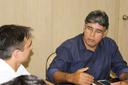 O diretor do Campus Campos Centro, Carlos Alberto Henriques, falou sobre parcerias.