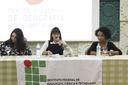 Palestra debateu a luta da mulher por espaços dominados pelo patriarcado.