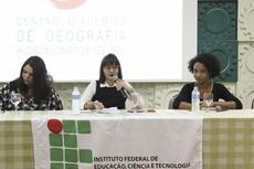 Da esquerda para direita: Jessíca Queiroz, Flávia Mendes e Dayana Teixeira.Fotos: Raphaella Cordeiro