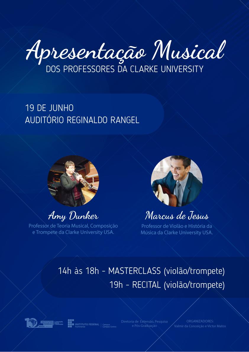 Master Class Violão e Trompete