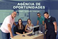 Equipe de atendimento da Agência de Oportunidades do Campus Campos Centro.