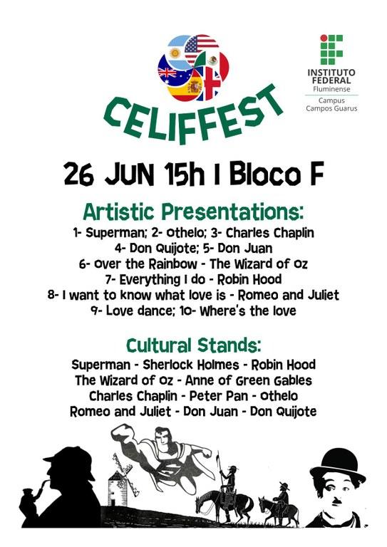 IFF Guarus realiza o I CELIFFEST