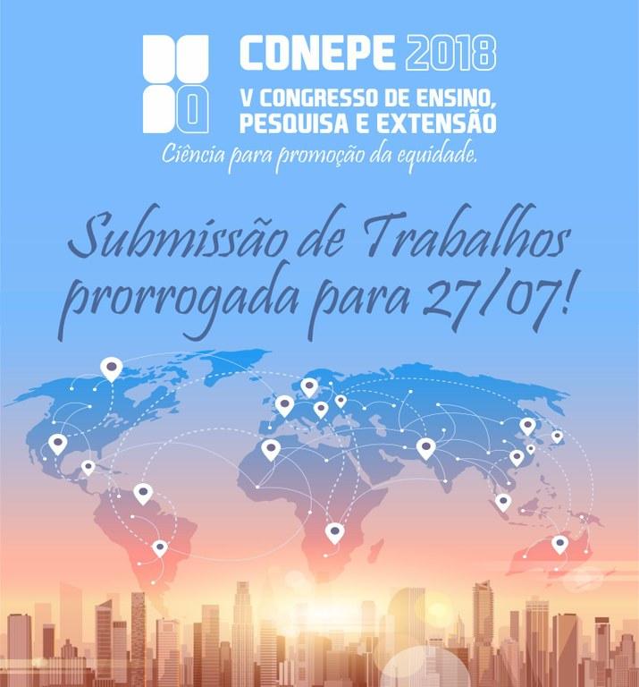 Inscrições abertas para o Conepe 2018