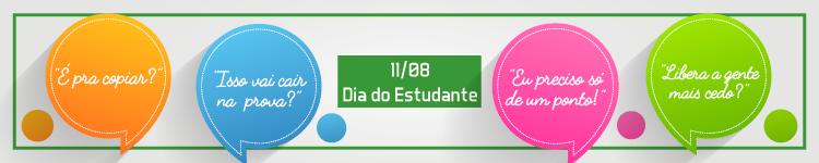 Banner Dia do Estudante - Campus Guarus