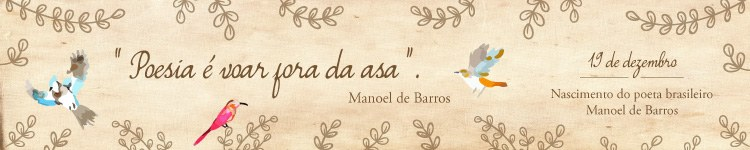 Banner Manoel de Barros