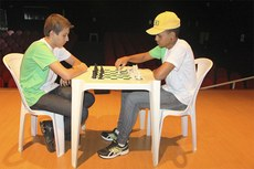 Partida de Xadrez realizada no Campus Avançado São João da Barra