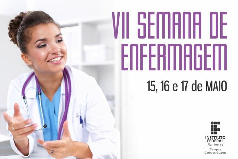 Campus Campos Guarus promove a VII Semana de Enfermagem