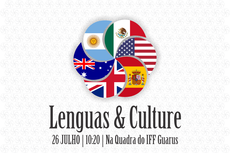 Campus Guarus organiza feira sobre línguas e culturas estrangeiras.