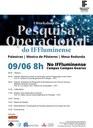 Programação completa do I Workshop de Pesquisa Operacional