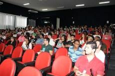 Estudantes, gestores e comunidade externa participaram do evento.