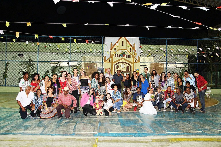 Festa julina anima o Campus Campos Guarus