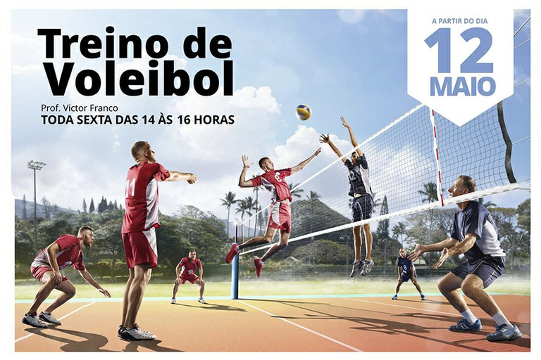 Treinos de Voleibol