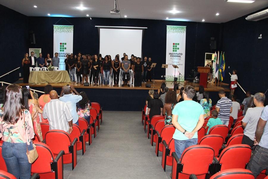IFF Guarus realiza Formatura dos estudantes dos Cursos de Formação Inicial e Continuada