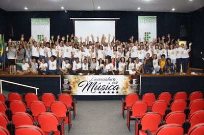MEC avalia com nota máxima Curso de Licenciatura em Música do Campus Guarus