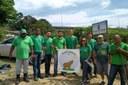 Projeto Capivara, do IFF Guarus, participa de ações no Dia Mundial da Limpeza