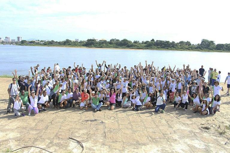 II Caminhada Ambiental com o Projeto Capivara