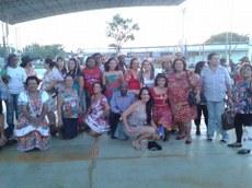 Festa integrou a equipe e os atendidos pelo Projeto Vitalidade.