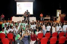O evento teve participação expressiva dos estudantes.