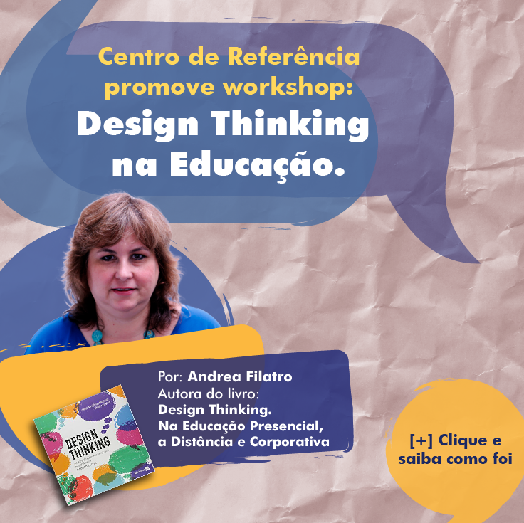 Workshop Design Thinking na Educação