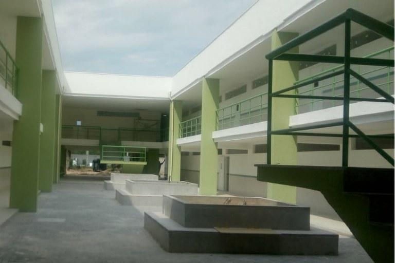 Itaboraí - bloco de salas de aula 1