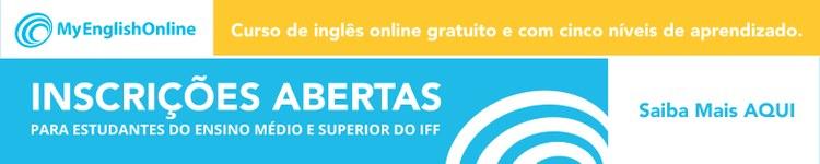 Curso de Inglês gratuito no IFF