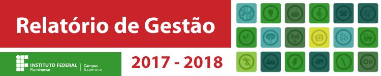 Prestação de Contas 2018 do IFF Itaperuna