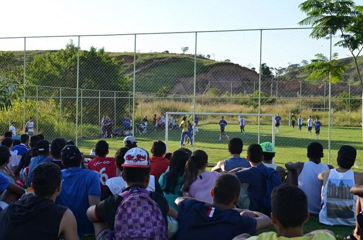 Jogo de futebol no IFFluminense Itaperuna