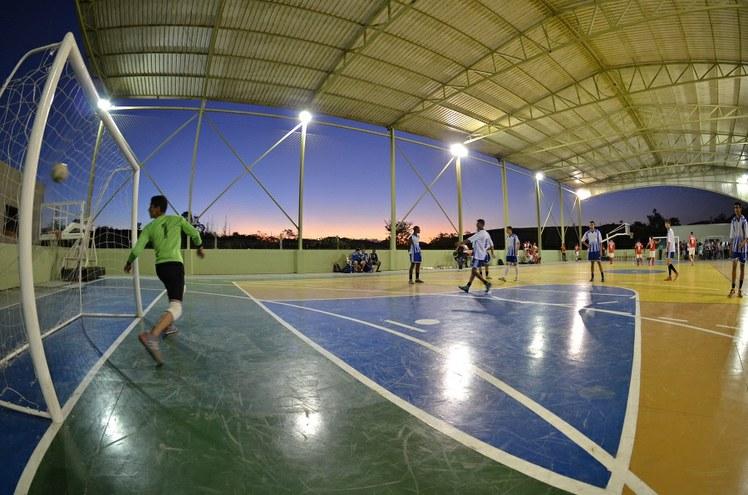Jogo de futsal no IFFluminense Itaperuna