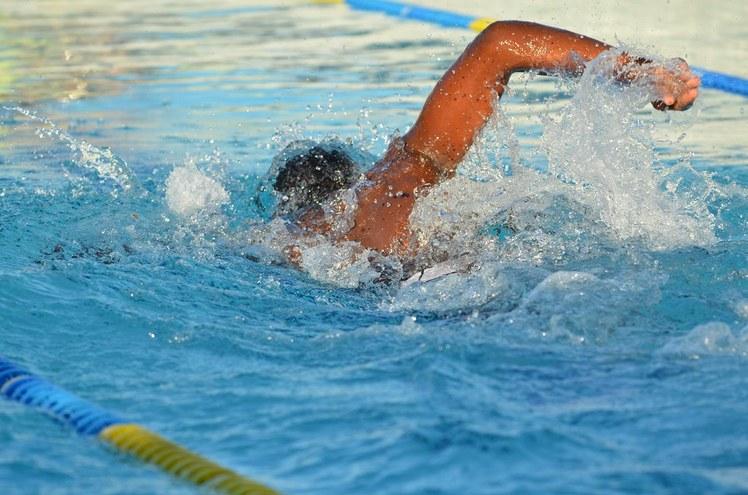 Natação na piscina do IFFluminense Itaperuna