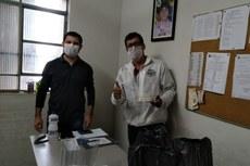 A entrega foi feita na Vigilância Ambiental em Saúde de Itaperuna