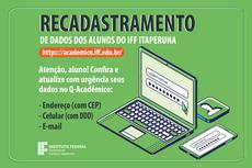 Recadastramento no IFF Itaperuna