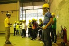 Alunos do último ano de Eletrotécnica do IFFluminense Itaperuna visitam a Usina de Itaipu