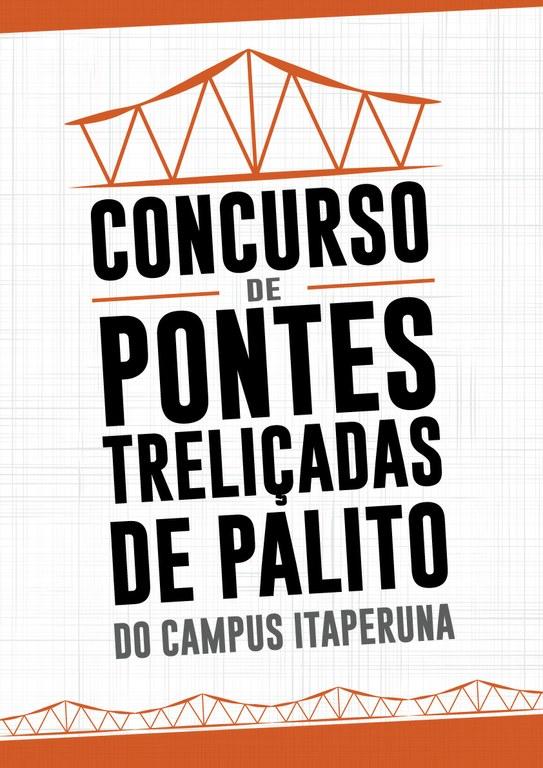 Concurso de Pontes Treliçadas de Palito do Campus Itaperuna