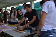 Alunos do segundo ano dos cursos Integrados do IFFluminense Itaperuna participam de trabalho de arte com temática indígena