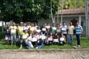 Os alunos receberam o certificado da Direção de Pesquisa e Extensão do campus Itaperuna