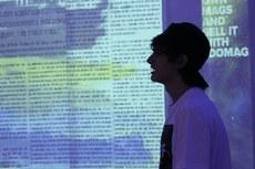 Alunos do segundo ano dos cursos integrados ao ensino médio produziram as revistas durante aulas de Língua Portuguesa