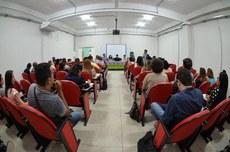 A aula inaugural contou com uma mesa-redonda
