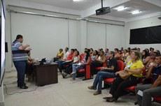 A reunião acontece no Auditório do Parque Acadêmico Industrial